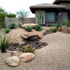 Backyard Desert Landscaping Ideas Desert Landscaping Ideas For Front Yard Outdoors Home Ideas