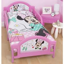 Pink Toddler Bedding Bedroom Disney Minnie Mouse Full Sheet Set Mickey Mouse Twin Bed