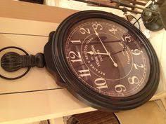Pottery Barn Outdoor Clock Vinatge Clock Vintage Antique World Map Clock Homeclocks Com