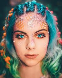 15 ways glitter can transform your halloween makeup 3d styles