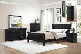 Louis Philippe Sleigh Bed Black Louis Phillipe Sleigh Bedroom U2013 Total Rooms