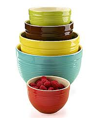 dillards kitchen canisters the ingredients 5piece mixing bowl set dillards exclusive