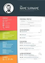 unique resume template cool resume templates free free unique resume templates images