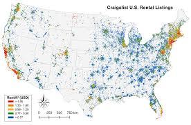Put In Bay Ohio Map by Craigslist And U S Rental Housing Markets Geoff Boeing