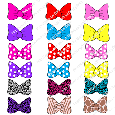 minnie mouse hair bow clip art 56