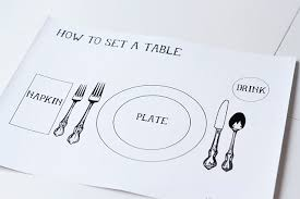 how do you set a table properly table setting guide social butterfly junior badge scout