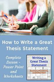 best 10 thesis statement ideas on pinterest writing a thesis
