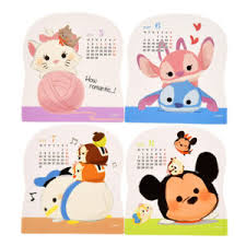 disney desk calendar 2017 check out the new disney tsum tsum character desk calendar 2017