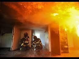 inside a burning house youtube