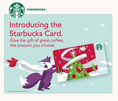 merry christmas with preloaded starbucks card this is me