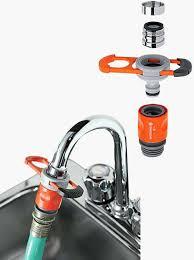 kitchen faucet to garden hose adapter kitchen faucet to garden hose adapter home depot garden