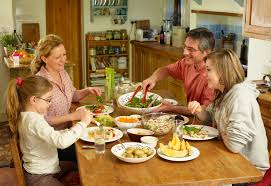 Dining Table With Food How Do You Spend At Your Dinner Table New Research Shows