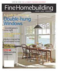 248 fine homebuilding front cover u2013 little harbor window
