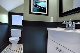 delightful bathroom color schemes ideas with white blue colors