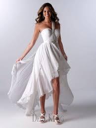 One Shoulder Wedding Dress Turmec One Shoulder Wedding Dress Short