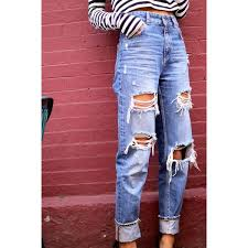 Skinny Jeans With Holes Best 25 Black Ripped Jeans Ideas On Pinterest Ripped Black