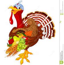 turkey with cornucopia royalty free stock photos image 34130488