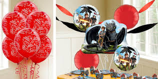 how to train your dragon balloons u0026 balloon accessories party city