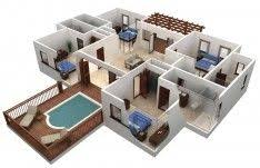 free floor plans best free floor plan software with beautiful outdoor pool design