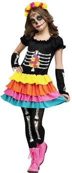 day of the dead costumes girl s day of the dead costume costumes