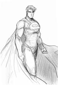 superman pencil sketches man of steel rough pencilbordon on
