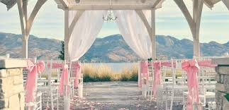 wedding arch kelowna weddings in west kelowna okanagan visit westside