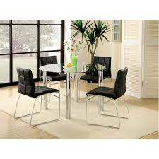 Glass Top Round Dining Tables by Kona I Glass Top Round Dining Table