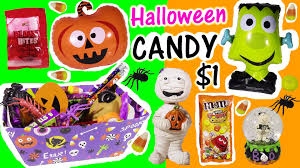 halloween candy haul everything 1 from the dollar tree pumpkin