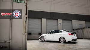 used lexus isf san diego white bison lexus is f on hre p40sc and wald black bison kit