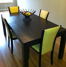 parsons dining room table dining room table contemporary black dining table decorations