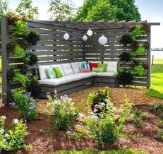 outdoor decor of cool garden benches for any outdoor decor style 9