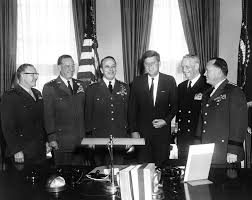 John F Kennedy Cabinet Members Ar6293 A President John F Kennedy Meets With Joint Chiefs Of