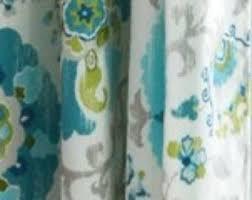 Blue Grey Curtains Blue Grey Curtains Etsy