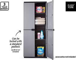 Aldi Filing Cabinet Keter Easyhome Space Rite Plastic Storage Cabinet 79 99 Aldi