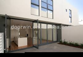 folding door glass exterior aluminium bifold glass doors folding door hardware buy