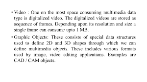 Video One 3d Multimedia Multimedia Is The Field Concerned With The Computer