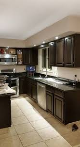 Kitchen Pictures With Oak Cabinets Gel Stain General Finishes Java Honey Oak Cabinets Java Gel