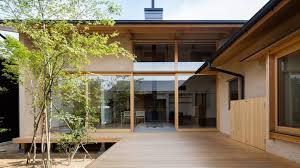 home house hiiragi s house is a japanese home arranged around a courtyard and