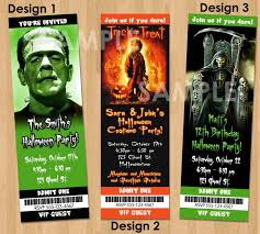 scary halloween invitations for adults disneyforever hd