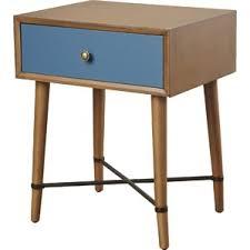 Curved Nightstand End Table Modern Nightstands Allmodern