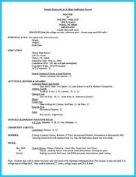 high resume sle for college admission resume sle for high students with no experience http