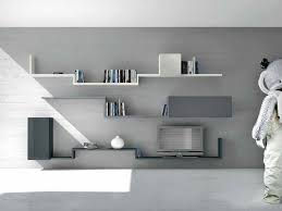 Modern Wall Mounted Shelves Wall Shelves Design Slate Wall Shelving Design Ideas Metal