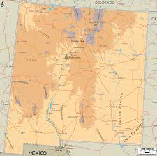 Map Of Durango Mexico by Map Of New Mexico Map Travel Holiday Vacations