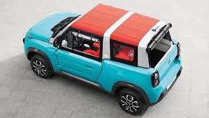 citroen mehari electric citroen builds a mini moke with the e mehari ev car news carsguide