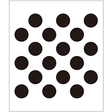64 Best Moroccan Stencil And by Folkart Polka Dot Painting Stencils 4375 The Home Depot