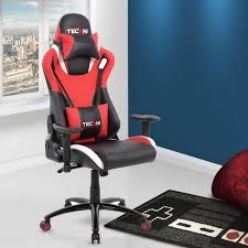 techni sport ergonomic high back gaming desk chair techni sport red and black ergonomic high back racer style video