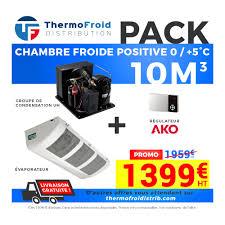 chambre froide fonctionnement chambres froides à prix fournisseurs chez thermofroid distribution
