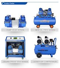 best portable home spray paint electric 6 bar 50l piston silent oil free air compressor