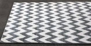 Designer Area Rug Chevron Grey And White Rug Roselawnlutheran