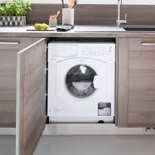 machine a laver dans la cuisine tout l éléctroménager pour votre cuisine équipée sur mesure schmidt